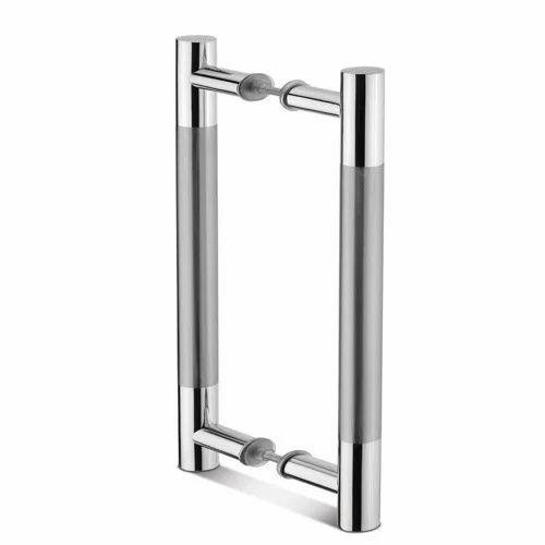Stainless Steel Glass Door Handle Rs 350 Piece Sunil Enterprises