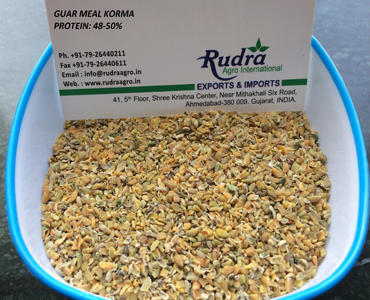 Rudra Guar Meal Korma, Pack Size: 50kg And 1000 Kg, Packaging Type: Pp Bag