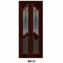 Brown Termite Proof Exterior Wooden Digital Printed Door