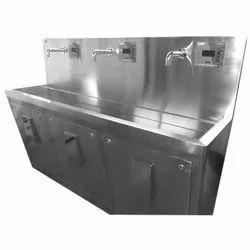 SS Wash Scrub Sink