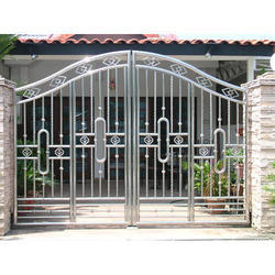 stainless steel gate in nagpur maharashtra stainless steel gate