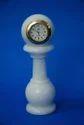 Marble Pillar Clock