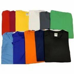 Plain Mens Dry Fit Round Neck T-Shirt