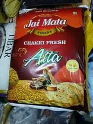 Indian Whole Wheat Jai Mata Chakki Atta, Plastic Bag