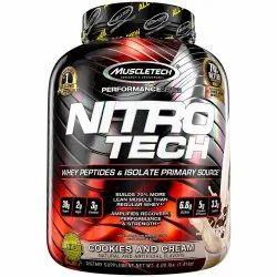Protein 30g Muscletech Nitrotech 4lb, 4lbs, Non prescription