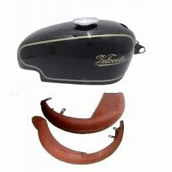 Velocette Motorcycle Fuel Tank, Fender Set Replacement Spare Parts