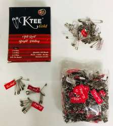 Ktee Mix Size Gold Safety Pin