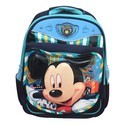 Printed Nylon Mickey School Bag