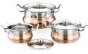 Stainless Steel Stallion Copper Bottom Cookware