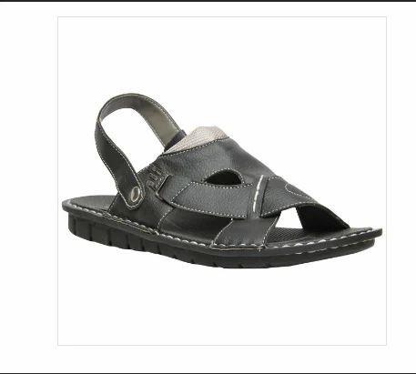 89ea34034 Synthetic Bata Black Sandals For Men F861606600, Size: 7, Rs 349 ...