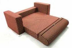 Pink Modern Sofa cum beds, For Home, Size: 75 x 48