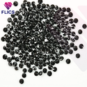 Black Monzonite Diamond ( Black Moissanite stone )