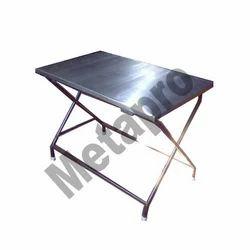Folding Steel Table