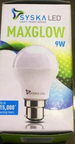 Branded - Syska LED Bulb ( Warranty 01 Year )
