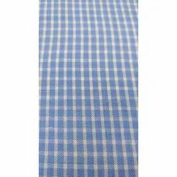 Golden Check Uniform Fabric