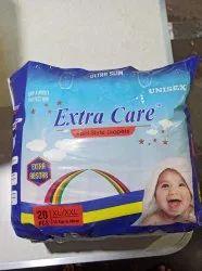 Extra Care Baby Diaper, XXL