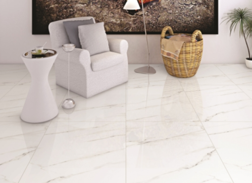 White And Beige Tiles Glossy Italian Marble Id 19175245973
