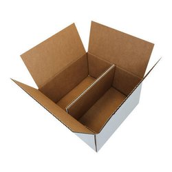 Cardboard Duplex Corrugated Box, For Packaging, Square