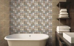 Gloss Johnson Bathroom Tiles, Thickness: 0-5 mm