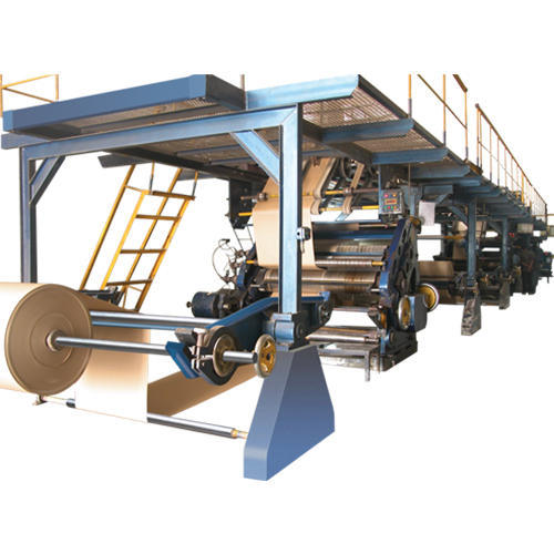 Automatic Corrugated Board Making Plant Fully Automatic