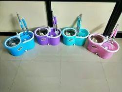 Pavan Plastic Bucket Mop SS for Floor Cleaning