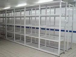 8 Feet Powder Coated Industrial Storage Pallet Rack, 3000 Kg