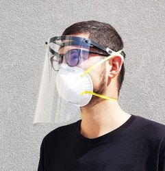 High Quality Anti-Fog Face Shield Mask for Protection