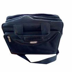 Black Rayon Office Bag