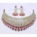 AD Designer Pearl Necklace Set