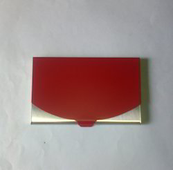 Steel Red Card Holder