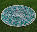 Mandala Bohemian Yoga Mat Throw