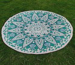Mandala Bohemian Yoga Mat Throw