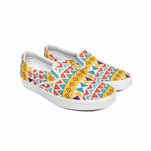 00ca772820d68 Creativesole Printed Canvas Shoe