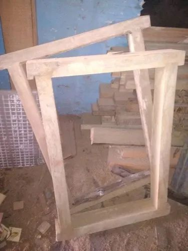 Rectangular Wooden Window Frame Dimension Size 2 3 Sq Foot