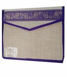 Anoo's Jute Folders, For Keeping Documents, Paper Size: A4
