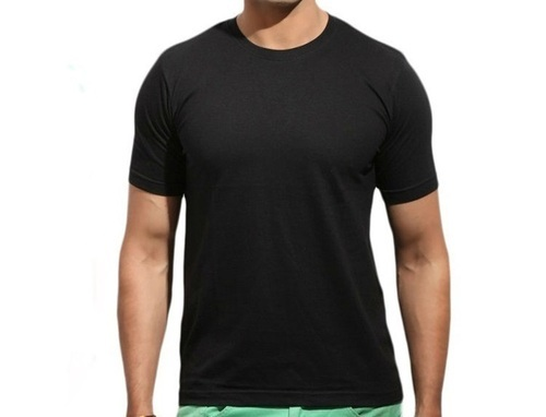 a69b7157e Mens Cotton Round Neck Plain T Shirt, Rs 93 /piece, Yash Shivani ...
