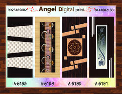 Digital Paper Print Door