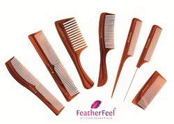 Handmade Brown Comb - Nourished Roots Comb