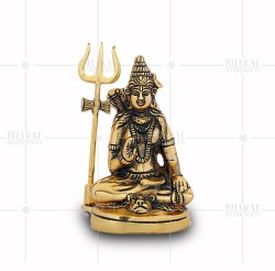 Gold Plated Lord Shiva Idols