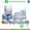 Paper Rolls, Billing POS Parking, Customized Size, Pre-Printing