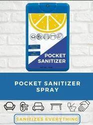 Pocket Sanitizer Spray