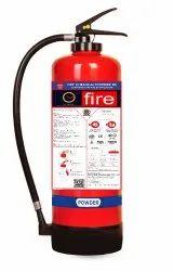 Red Aluminium Alloy 4kg - 9kg DCP SBC Based Powder Cartridge Fire Extinguisher