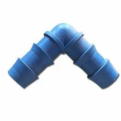 For Hose Fitting 90 Degree Blue PVC Hose Elbow, 1/2 Inch