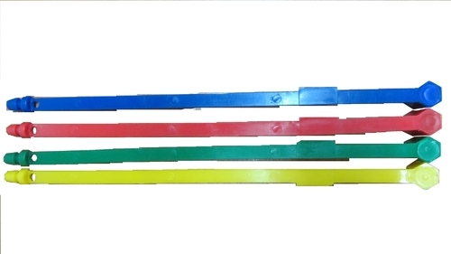 Oval Blue Plastic Strip Seal