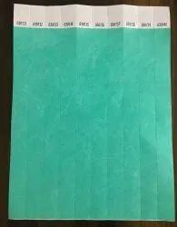 Fluorescent Colour Paper Wristbands