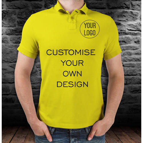 e877f02c Customized Polo T Shirt at Rs 190 /piece | Mens Cotton T-shirt | ID ...