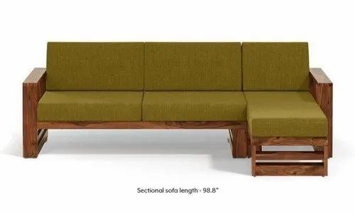 08617f2767 Brown And Green Teak Sofa, Rs 25000 /piece, AST INTERNATIONAL | ID ...