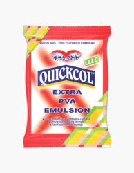 Quickcol LLLC PVA Emulsion Wood Adhesive, 5 - 10 Kg, Packaging Type: Packet