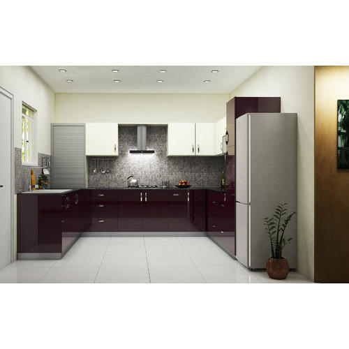 U Shaped Modular Kitchen In Madhya Pradesh
