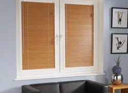 Horizontal Wooden Blinds, Size: 35 & 50 mm
